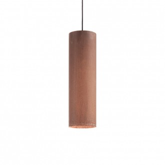 IDEAL LUX 187686 | Look-IL Ideal Lux függeszték lámpa - LOOK SP1 D12 CORTEN - 1x GU10 2700K corten, rozsdabarna