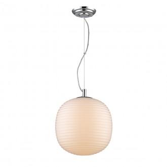 ITALUX 8192-1P | Dakota-IT Italux függeszték lámpa 1x E27 króm, krémszín