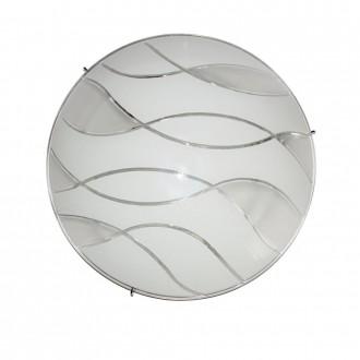 ITALUX C29367YK-3 | Naomi-IT Italux mennyezeti lámpa 2x E27 króm, fehér, áttetsző