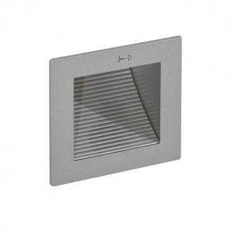 ITALUX DL-E02/SY | Soleo Italux beépíthető lámpa 90x90mm 1x MR11 / GU4 szürke
