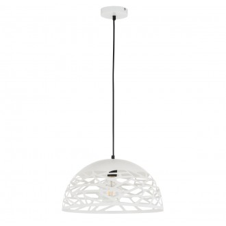 ITALUX MA05131C-001-01 | Armand Italux függeszték lámpa 1x E27 matt fehér
