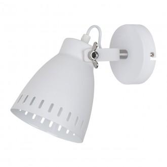 ITALUX MB-HN5050-1-WH+S.NICK | Franklin Italux falikar lámpa elforgatható alkatrészek 1x E27 matt fehér, matt króm