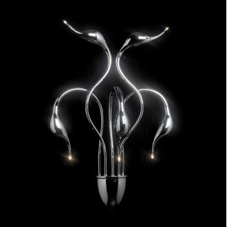 ITALUX MB8098-5A | Swan-IT Italux fali lámpa 5x G4 3000K króm