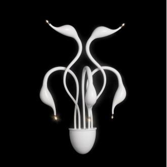 ITALUX MB8098-5A/WH | Swan-IT Italux fali lámpa 5x G4 3000K fehér
