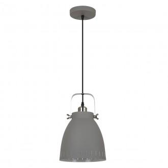 ITALUX MD-HN8026M-GR+S.NICK | Franklin Italux függeszték lámpa 1x E27 matt szürke, matt króm