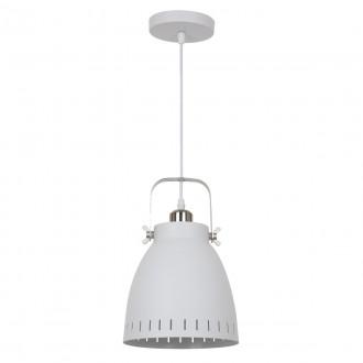 ITALUX MD-HN8026M-WH+S.NICK | Franklin Italux függeszték lámpa 1x E27 matt fehér, matt króm