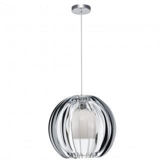 ITALUX MD16091-1B | Sabella Italux függeszték lámpa 1x E27 króm, fehér