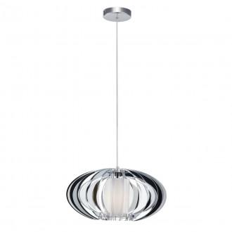 ITALUX MD16092-1B | Sabella Italux függeszték lámpa 1x E27 króm, fehér