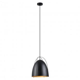 ITALUX MDM3346/1 BK | Zilla Italux függeszték lámpa 1x E27 fekete
