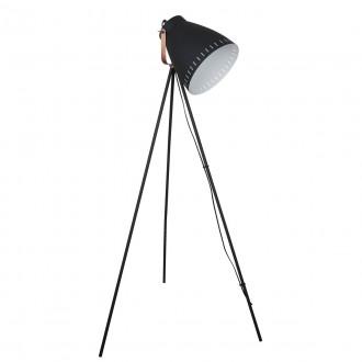 ITALUX ML-HN3068-B+RC | Franklin Italux álló lámpa 144,5cm kapcsoló elforgatható alkatrészek 1x E27 vörösréz, fekete, fehér