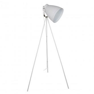 ITALUX ML-HN3068-WH+S.NICK | Franklin Italux álló lámpa 144,5cm kapcsoló elforgatható alkatrészek 1x E27 matt fehér, matt króm