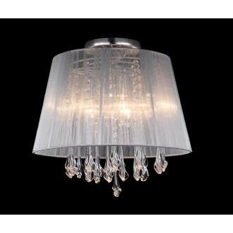 ITALUX MXM1869-3 WH   Isla-IT Italux mennyezeti lámpa 3x E14 fehér, átlátszó, átlátszó