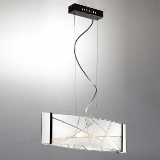 ITALUX P29366-1Y | Abigail-IT Italux függeszték lámpa 4x G9 fehér, króm