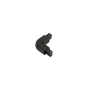 ITALUX TR-L-JOINT-BL | 4-Phase-Track Italux rendszerelem - 90° könyök alkatrész fekete