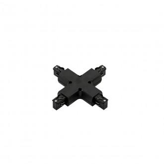 ITALUX TR-PLUS-JOINT-BL | 4-Phase-Track Italux rendszerelem - kereszt csatlakozó alkatrész fekete