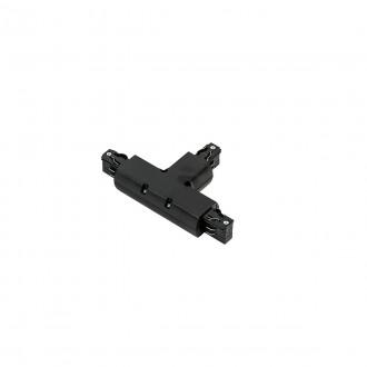 ITALUX TR-T-JOINT-BL | 4-Phase-Track Italux rendszerelem - T-csatlakozó alkatrész fekete