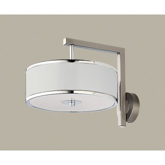 JUPITER 1224 JA K B | Jazz Jupiter falikar lámpa 1x E14 fehér, króm