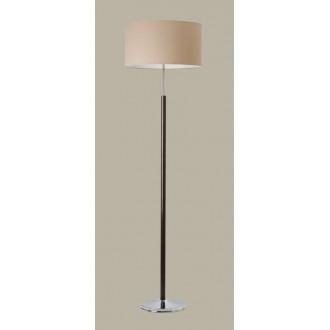 JUPITER 1273 BT P | BostonJ Jupiter álló lámpa 166cm taposókapcsoló 3x E14 króm, wenge, kapucsínó