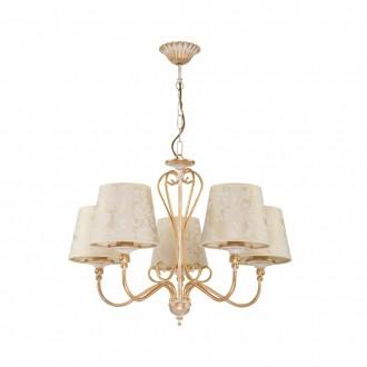 JUPITER 1592 SI 5 EC | Sofia Jupiter csillár lámpa 5x E27 ekrü, arany