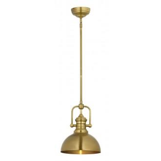 JUPITER 1787 PT 1 P   Platino Jupiter függeszték lámpa állítható magasság 1x E27 szatén sárgaréz