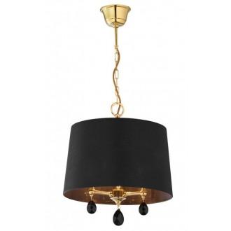 JUPITER 1793 EG 1 MS   Egida Jupiter függeszték lámpa 3x E27 szatén sárgaréz, fekete