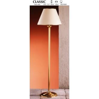 JUPITER 207A CLP | ClassicJ Jupiter álló lámpa 155cm taposókapcsoló 1x E27 szatén réz, ekrü
