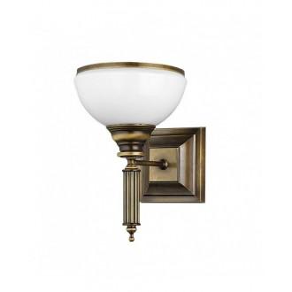 JUPITER 625 ZU K | ZeusJ Jupiter falikar lámpa 1x E27 patinás réz, fehér