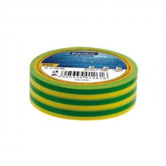 KANLUX 1277 | Kanlux szigetelőszalag 20 m sárga, zöld