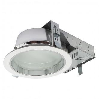 KANLUX 18671 | Perfo Kanlux beépíthető - mélysugárzó lámpa kerek Ø240mm 2x G24q-2 / T2U/4P IP44 fehér