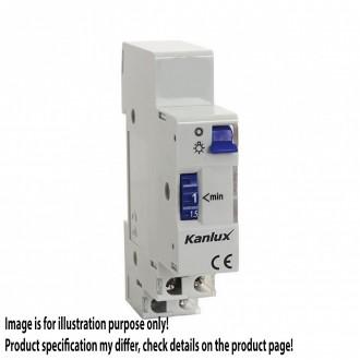 KANLUX 18730 | Kanlux lépcsőházi automata DIN35 modul 1-7M világosszürke, lila