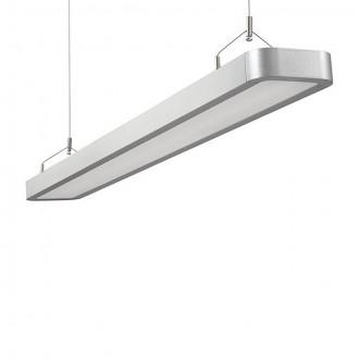 KANLUX 18870 | Lestra Kanlux függeszték lámpa téglalap 2x G5 / T5 4000K ezüst