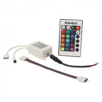 KANLUX 18960 | Kanlux vezérlő RGB LED IR téglalap fehér