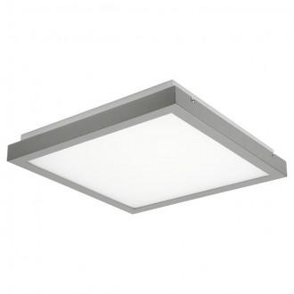 KANLUX 19010 | Tybia Kanlux mennyezeti, függeszték lámpa négyzet 2x 2G11 / PL-L/4P IK05 szürke, fehér