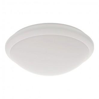 KANLUX 19060 | Daba Kanlux fali, mennyezeti lámpa kerek mozgásérzékelő 1x LED 1000lm 4000 - 4500K IP44 IK10 fehér