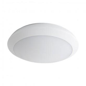 KANLUX 19063 | Daba Kanlux fali, mennyezeti lámpa kerek mozgásérzékelő készenléti funkció 1x LED 1900lm 4000K IP66 IK10 fehér