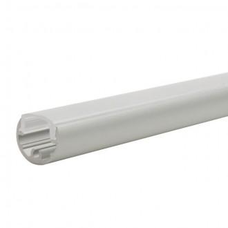 KANLUX 19160 | Kanlux alumínium led profil A - búra nélkül - 1m max. 8 mm LED szalaghoz alumínium