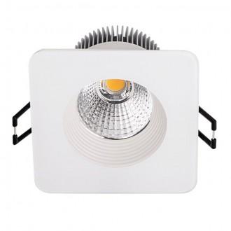 KANLUX 19916 | Quella Kanlux beépíthető - mélysugárzó lámpa négyzet Ø83mm 83x83mm 1x LED 460lm 2700 - 3200K krémszín