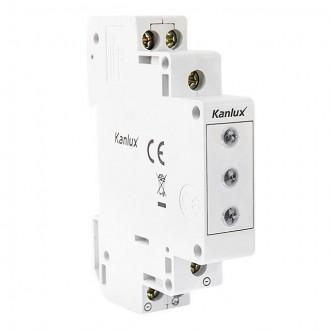 KANLUX 22070 | Kanlux kontroll lámpa LED RGB 3in1 világosszürke