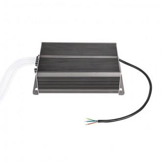 KANLUX 22082 | Kanlux LED tápegység 12V DC 4x50W 16,66A téglalap hőbiztosíték IP66 grafit