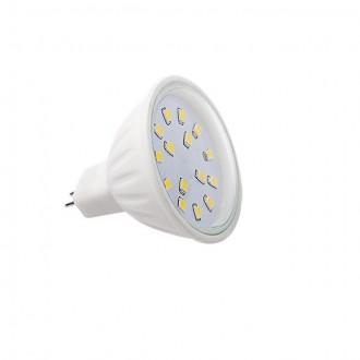 KANLUX 22204 | MR16 / GU5.3 4,5W -> 35W Kanlux spot LED fényforrás SMD 390lm 5700 - 6300K 120° CRI>80