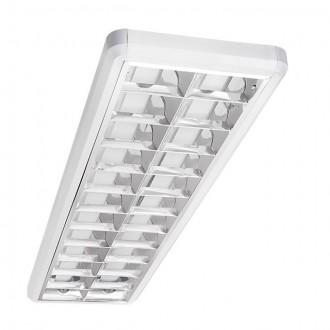 KANLUX 22290 | Notus-Premium Kanlux mennyezeti armatúra téglalap 2x G13 / T8 fehér