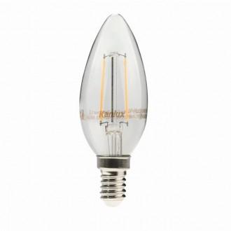 KANLUX 22466 | E14 2W -> 23W Kanlux gyertya C35 LED fényforrás filament 230lm 2700K 300° CRI>80
