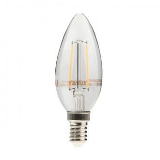 KANLUX 22469 | E14 4W -> 35W Kanlux gyertya C35 LED fényforrás filament 400lm 2700K 360°
