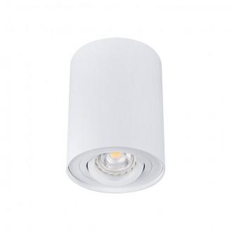 KANLUX 22551 | Bord Kanlux mennyezeti lámpa henger elforgatható fényforrás 1x GU10 fehér