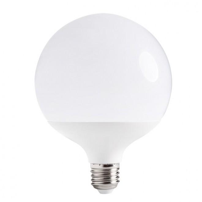 KANLUX 22571   E27 16W -> 100W Kanlux nagy gömb G120 LED fényforrás SMD 1520lm 3000K 220°