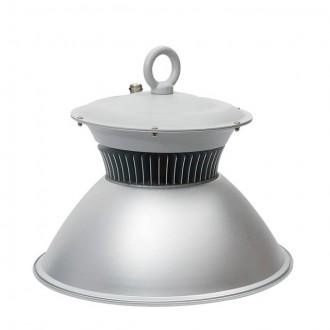 KANLUX 22870 | Euro_LED Kanlux LED csarnokvilágító lámpa villásdugó - kapcsoló nélkül 1x LED 7600lm 4000K IP65 szürke, alumínium