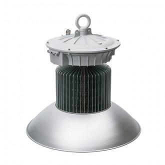 KANLUX 22872 | Euro_LED Kanlux LED csarnokvilágító lámpa villásdugó - kapcsoló nélkül 1x LED 14250lm 4000K IP65 szürke, alumínium
