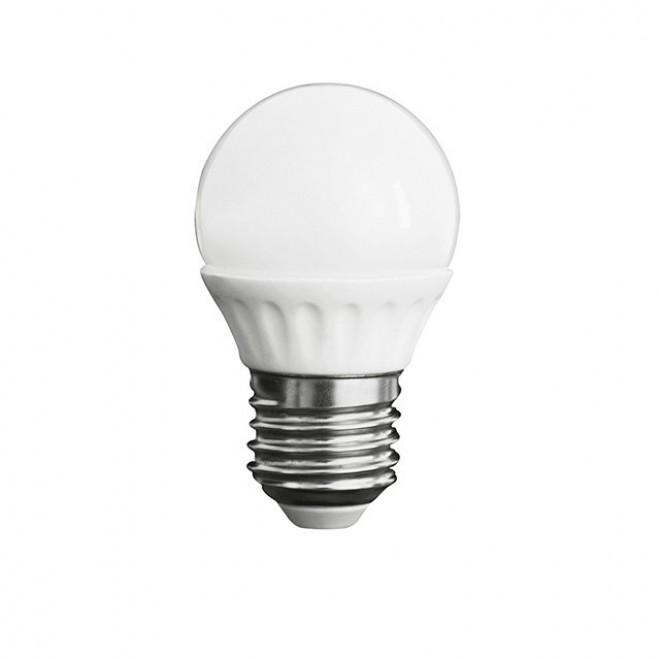 KANLUX 23043 | E27 5W -> 37W Kanlux kis gömb G45 LED fényforrás SMD 420lm 3000K 200° CRI>80