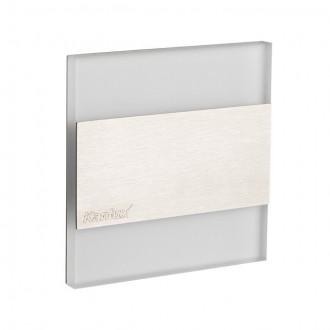 KANLUX 23104 | Kanlux_Terra Kanlux beépíthető lámpa négyzet 75x75mm 1x LED 15lm 6500K nemesacél, rozsdamentes acél, átlátszó