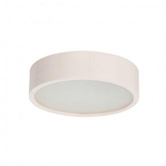 KANLUX 23123 | Jasmin-K Kanlux fali, mennyezeti lámpa kerek 1x E27 fehér tölgy, fehér